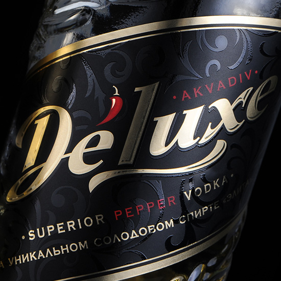 DELUXE — Premium Malted Grain Vodka