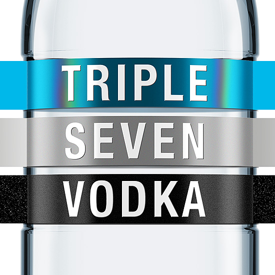 TRIPLE SEVEN VODKA — A Perfect Premium Product