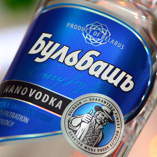 BULBASH NANO — Vodka redesign