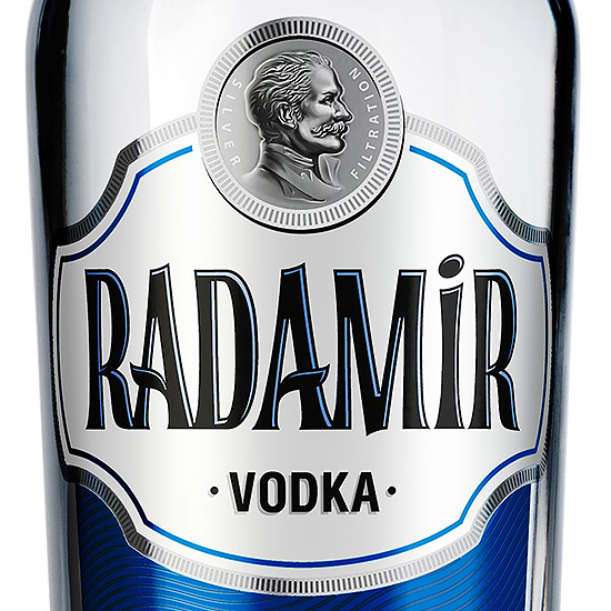 RADAMIR — Vodka Series Design