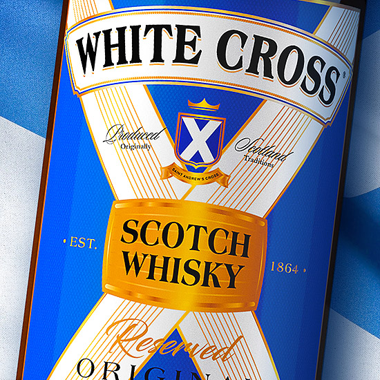 WHITE CROSS — Whisky design
